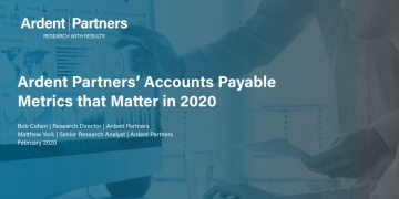Ardent Partners' Accounts Payable